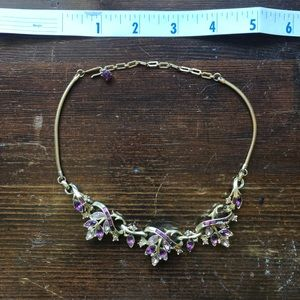 Jewelry - Vintage amethyst necklace